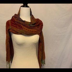 Wrap Scarf Autumn Colors